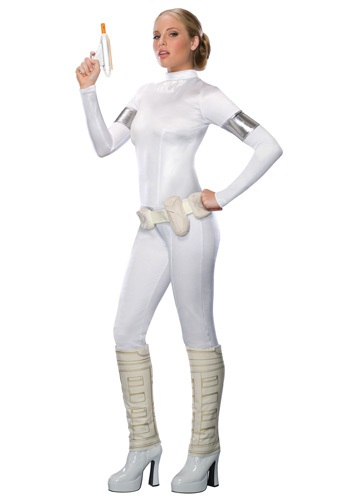 Click Here to buy Padme Amidala Costume Adult from HalloweenCostumes, CDN Funds