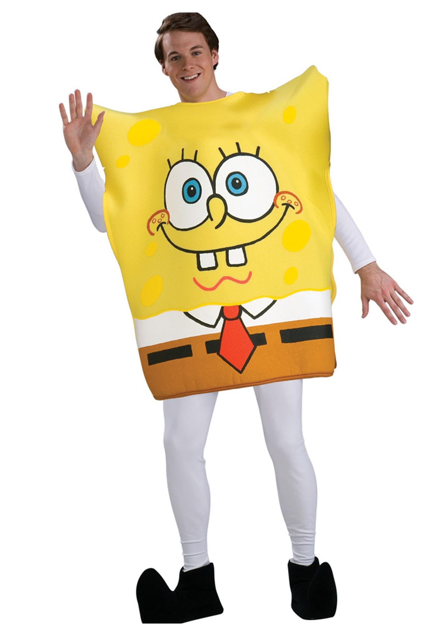 spongebob squarepants costumes for adults