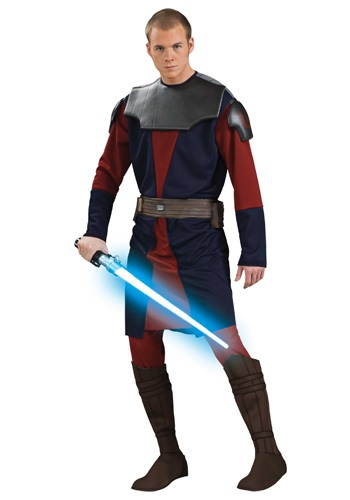 Adult Deluxe Anakin Skywalker Costume By: Rubies Costume Co. Inc for the 2015 Costume season.