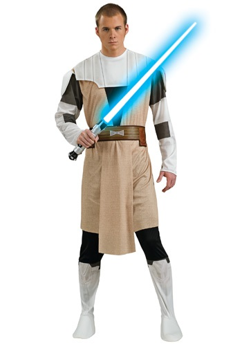 Click Here to buy Obi Wan Kenobi Adult Costume from HalloweenCostumes, CDN Funds