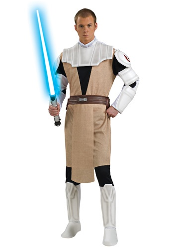 Adult Deluxe Obi Wan Kenobi Costume By: Rubies Costume Co. Inc for the 2015 Costume season.