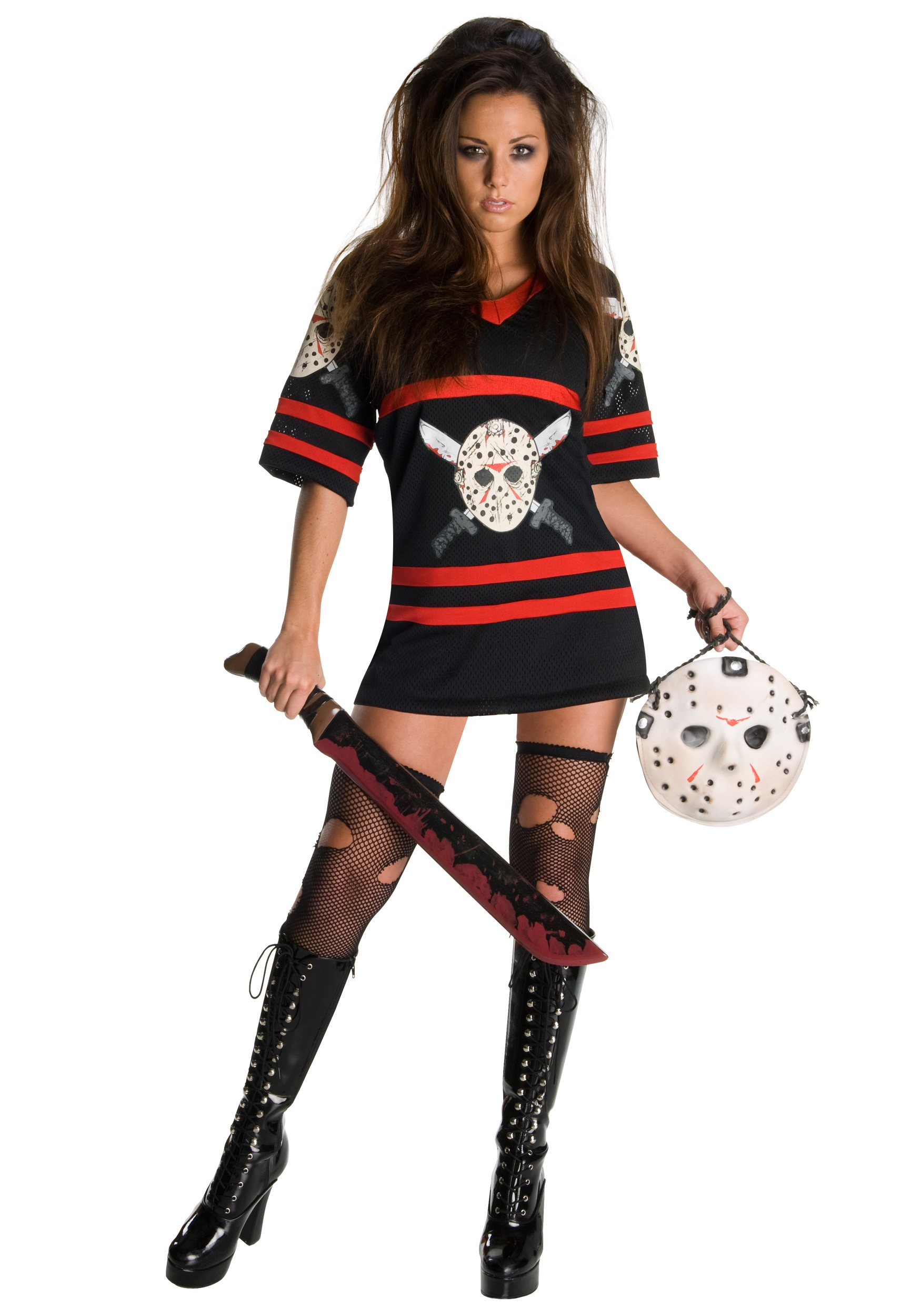 sc 1 st  Halloween Costumes & Sexy Jason Voorhees Costume