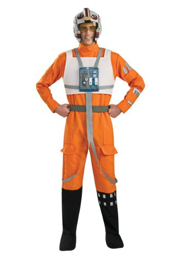 Adult X-Wing Pilot Costume By: Rubies Costume Co. Inc for the 2015 Costume season.