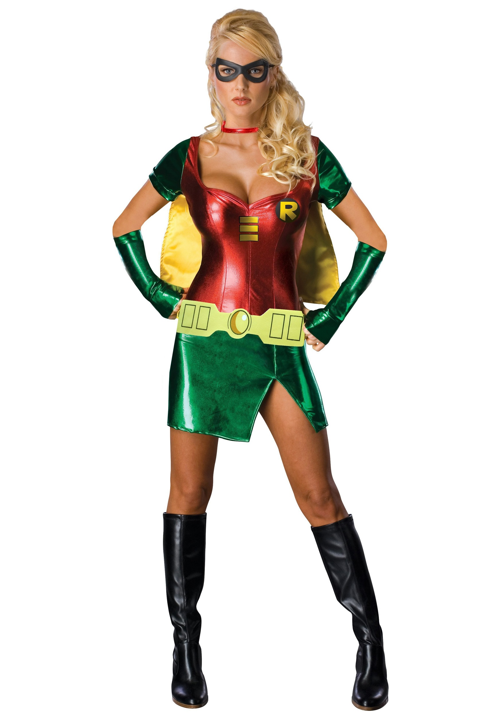 sc 1 st  Halloween Costumes & Robin Girl Sexy Costume