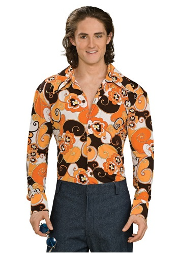 Click Here to buy Paisley Disco Shirt from HalloweenCostumes, CDN Funds