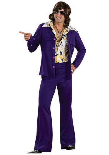 Purple Leisure Suit