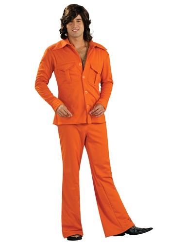 Orange Leisure Suit Costume