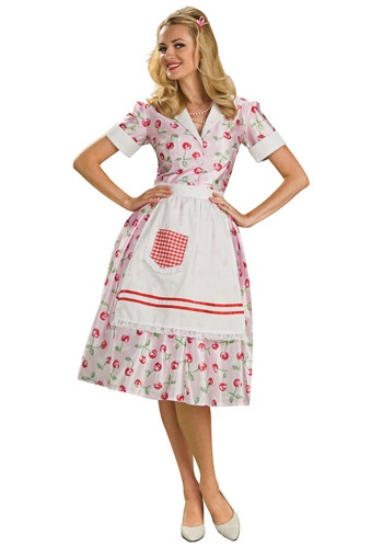 Click Here to buy 50s Housewife Costume from HalloweenCostumes, CDN Funds