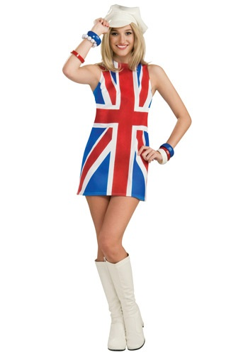 Sexy British Invasion Costume