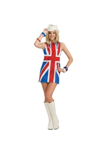 Click Here to buy Sexy British Invasion Costume from HalloweenCostumes, CDN Funds