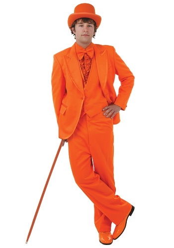 Deluxe Orange Tuxedo By: Fun Costumes for the 2015 Costume season.