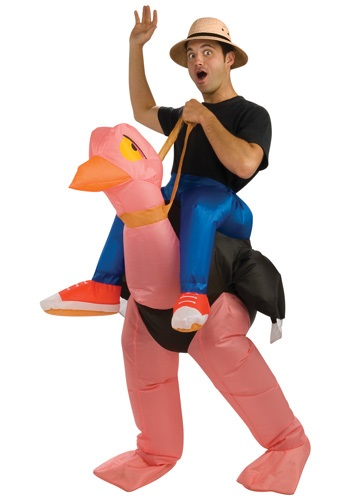 Adult Inflatable Ostrich Costume By: Rubies Costume Co. Inc for the 2015 Costume season.