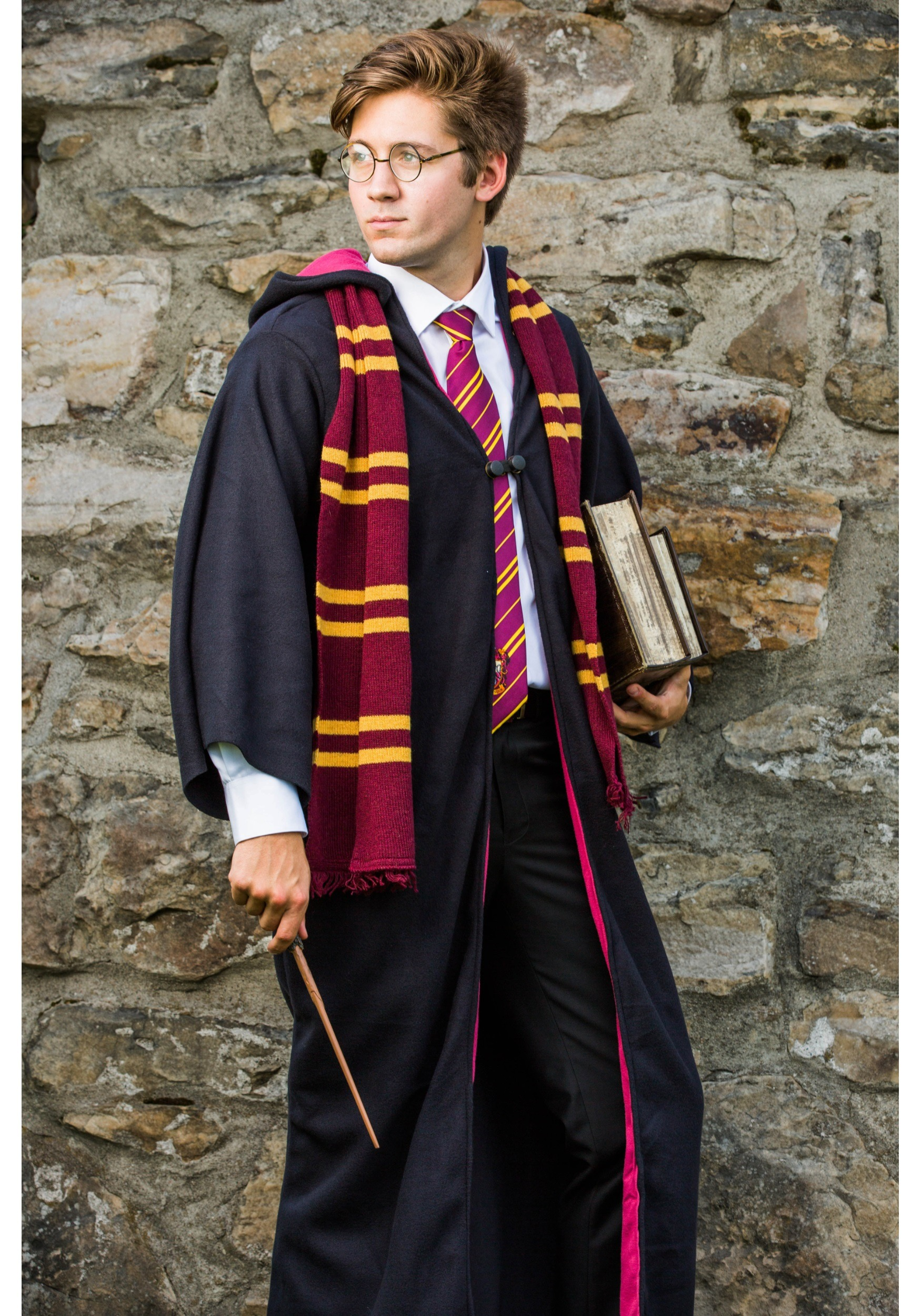 adult deluxe harry potter costume. Black Bedroom Furniture Sets. Home Design Ideas