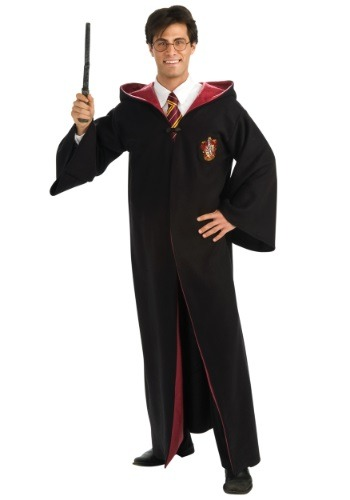 Click Here to buy Adult Deluxe Harry Potter Costume from HalloweenCostumes, CDN Funds