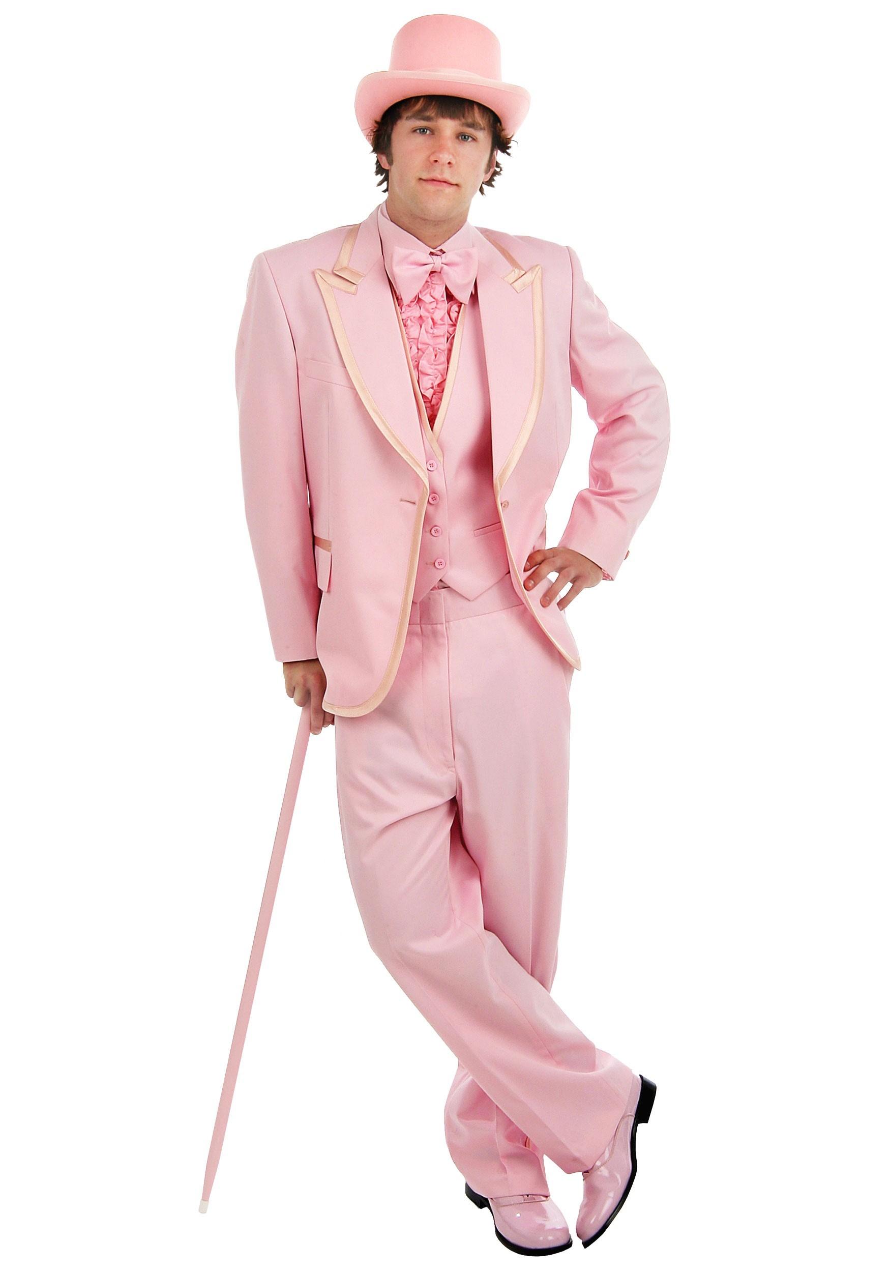 Men\'s Pink Tuxedo