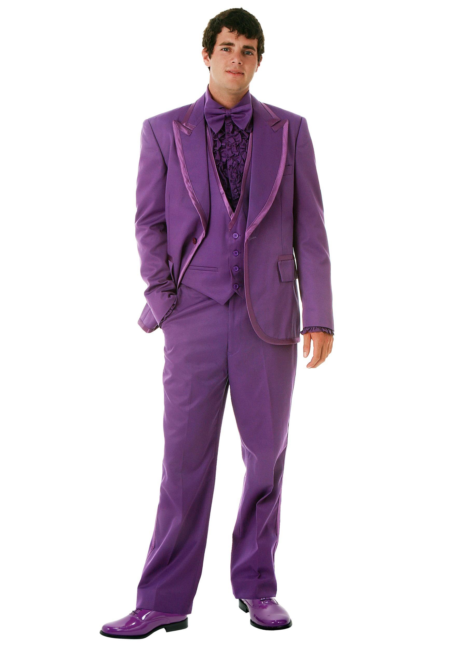 Men\'s Purple Tuxedo