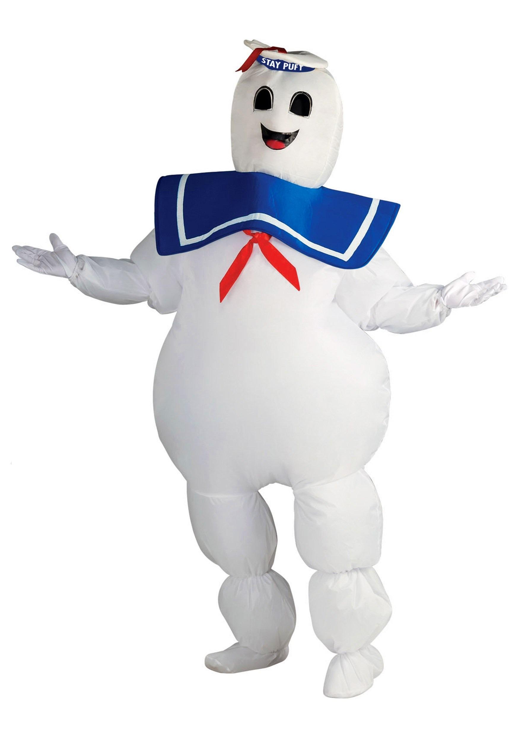 Ghostbuster Marshmallow Men's Costume RU889832