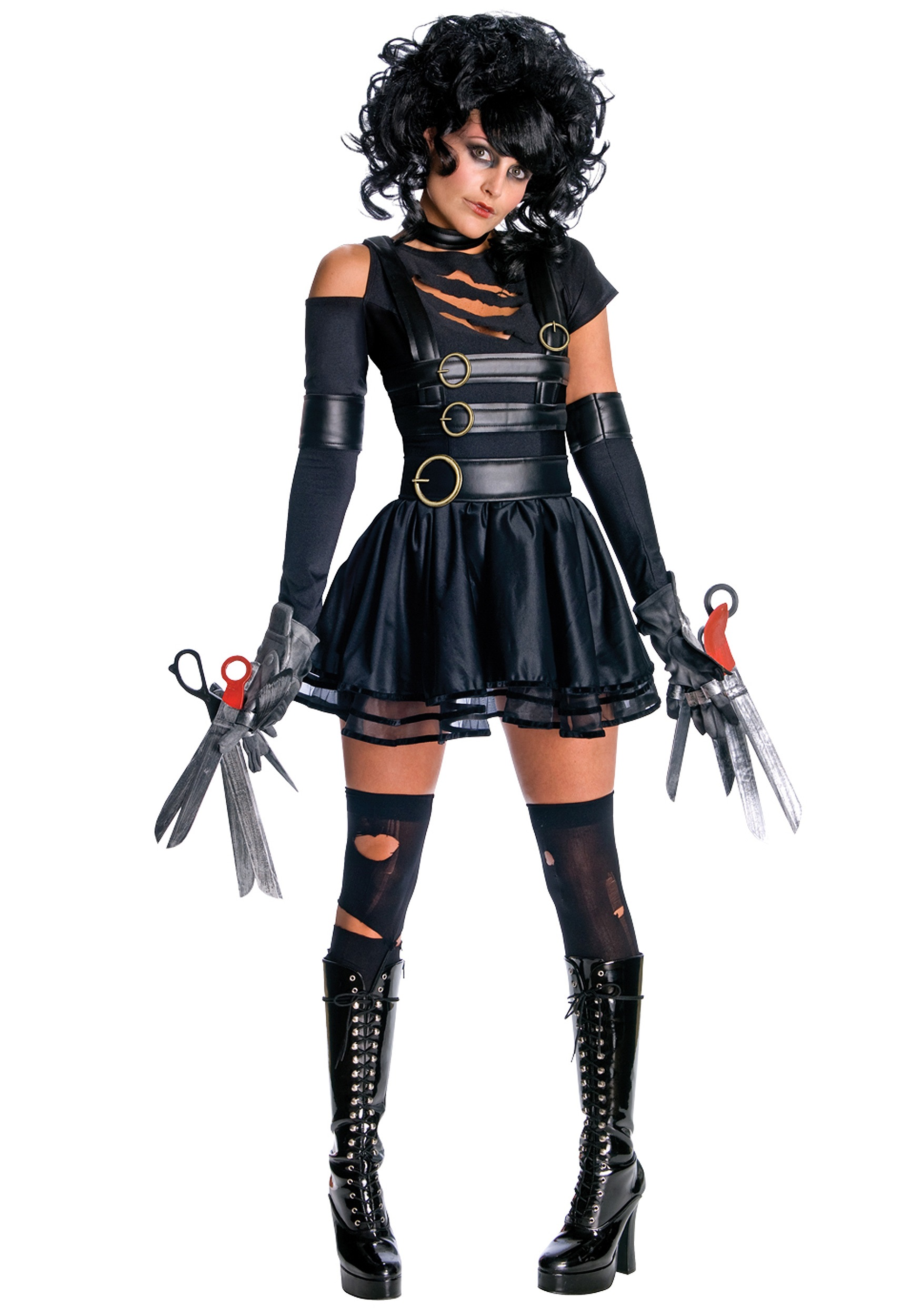 miss scissorhands costume. Black Bedroom Furniture Sets. Home Design Ideas
