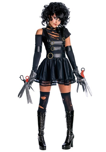 Click Here to buy Miss Scissorhands Costume from HalloweenCostumes, CDN Funds