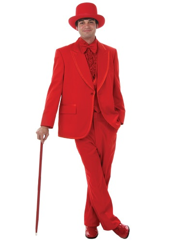 Mens Red Tuxedo By: Fun Costumes for the 2015 Costume season.