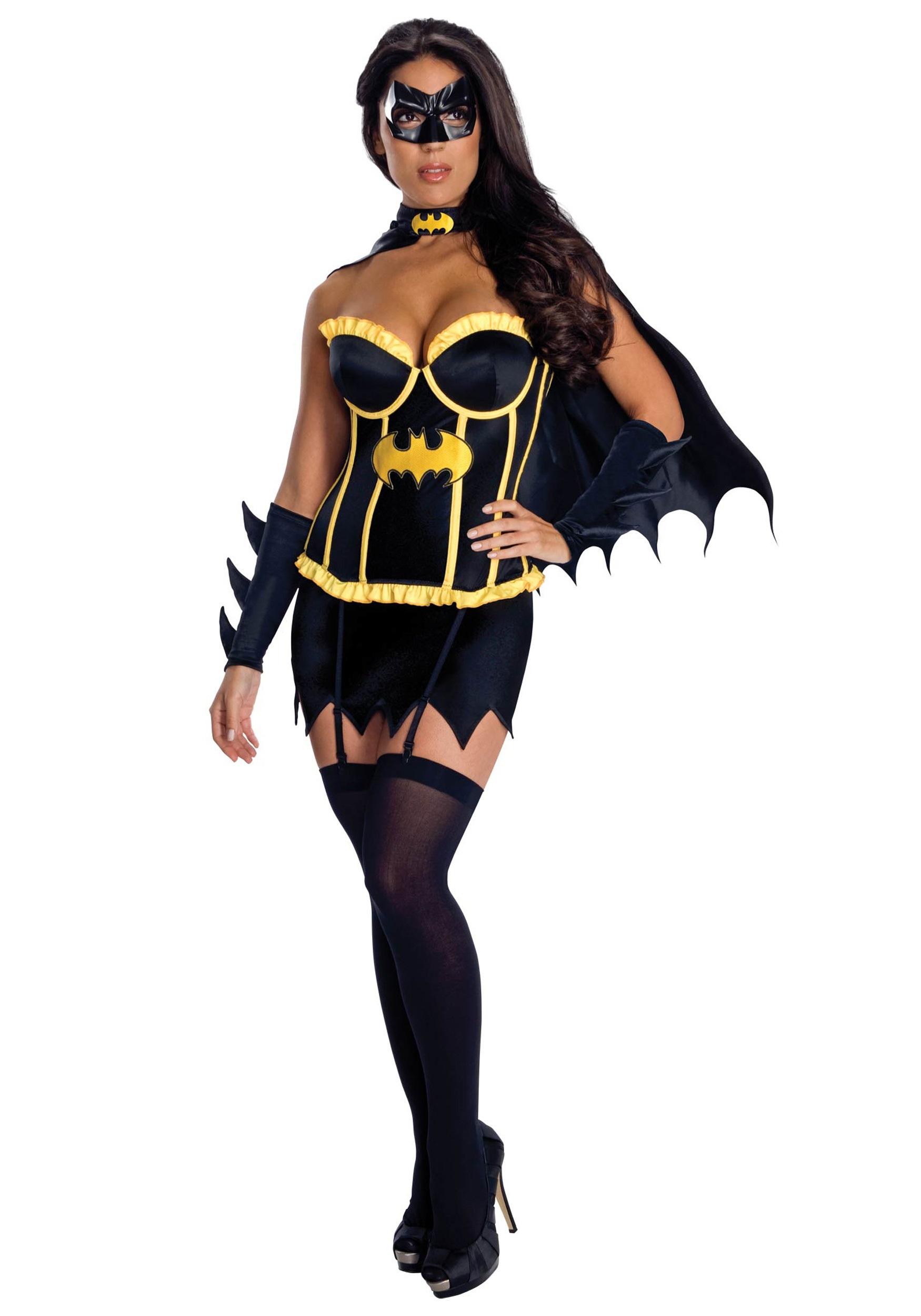 Batgirl Corset CostumeBatgirl Costumes