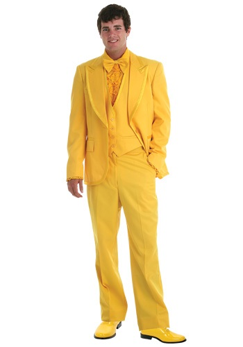 Mens Yellow Tuxedo By: Fun Costumes for the 2015 Costume season.