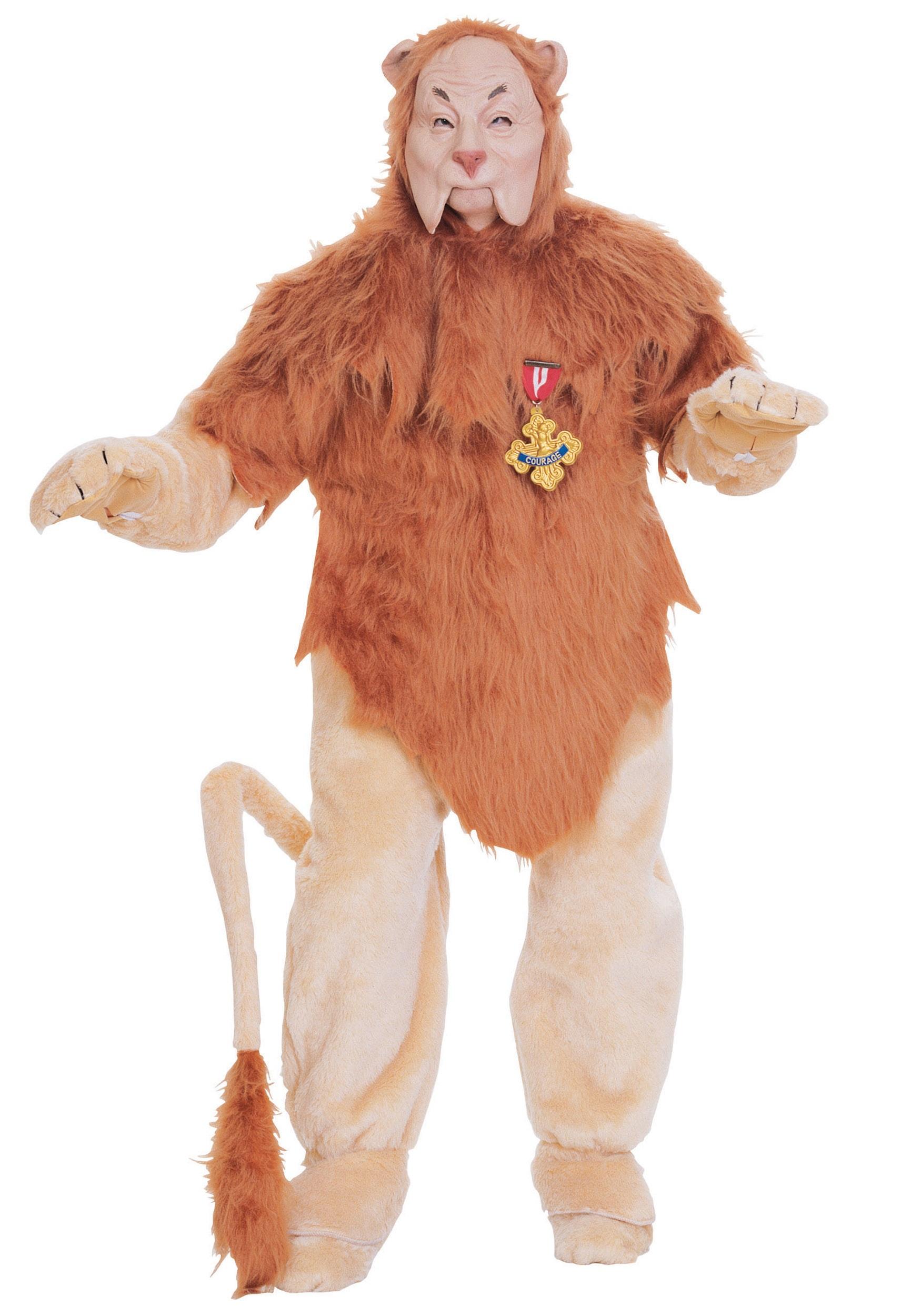 Authentic Cowardly Lion Costume