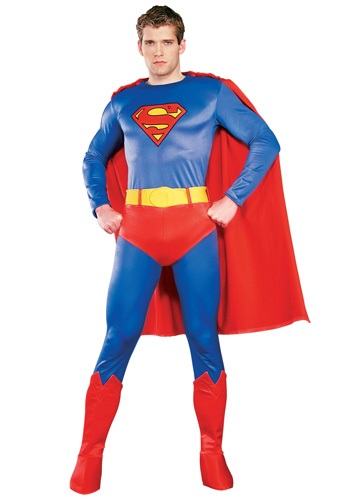 Adult Authentic Superman Costume   Spandex Superman Costumes Deluxe By: Rubies Costume Co. Inc for the 2015 Costume season.