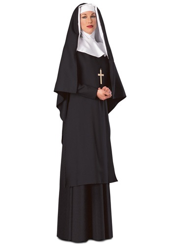 Click Here to buy Replica Nun Costume from HalloweenCostumes, CDN Funds