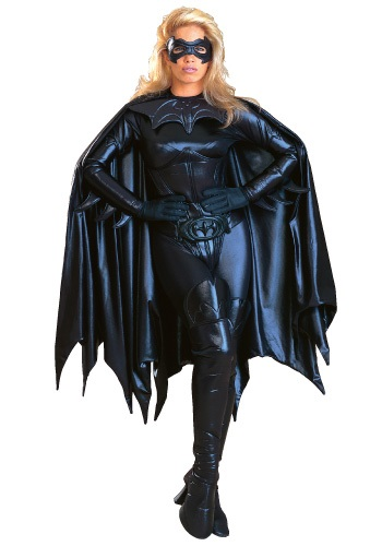 ADULT AUTHENTIC BATGIRL COSTUME - Edgy Womens Halloween Costume