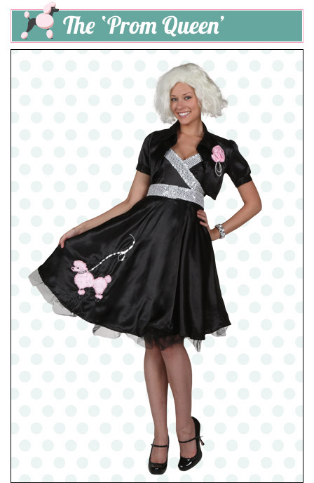 The Prom Queen Poodle Skirt Look