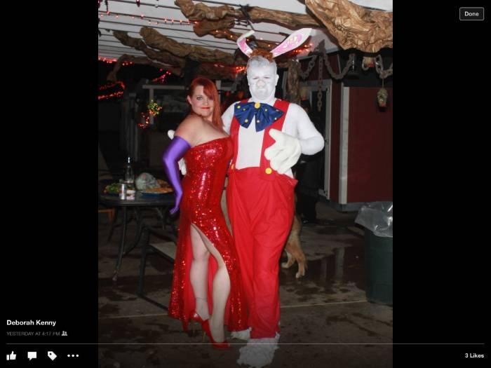 Jessica Rabbit Costume Plus Size Meningrey