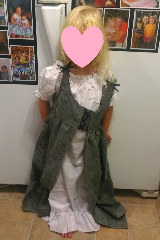 toddler girls renaissance faire costume. Black Bedroom Furniture Sets. Home Design Ideas