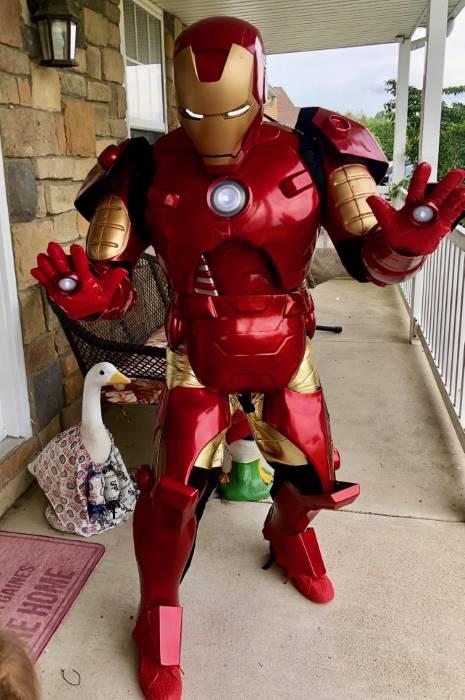 Authentic Men's Iron Man Costume