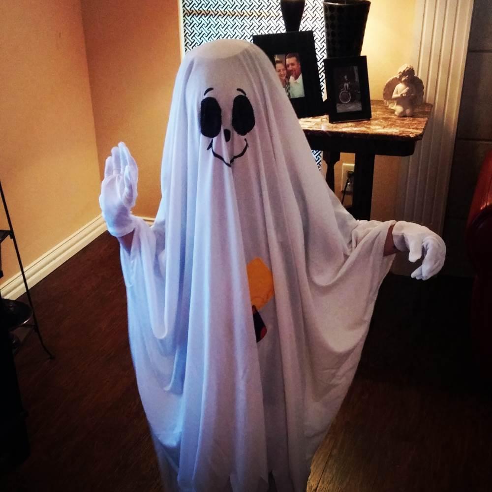Friendly Ghost Kids Costume
