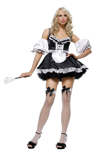 Sexy French Maid Costume. Product Description