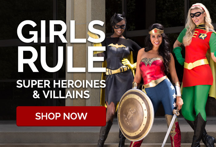 Girls Rule Super Heroines & Villains