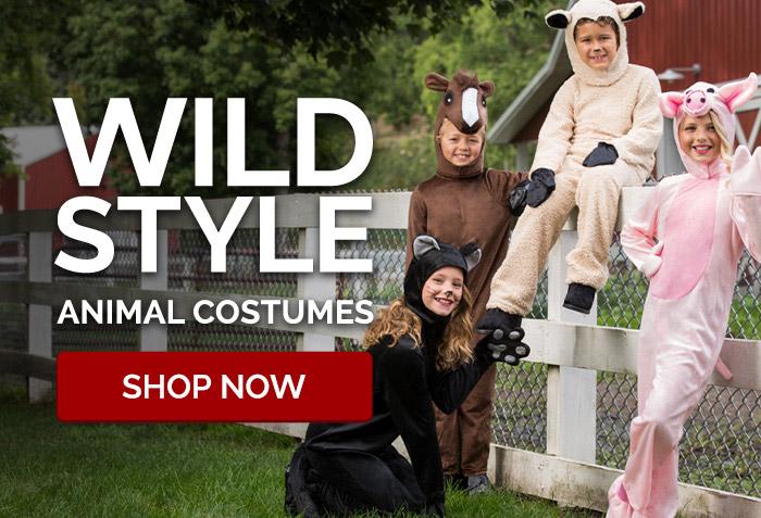 Wild Style Animal Costumes
