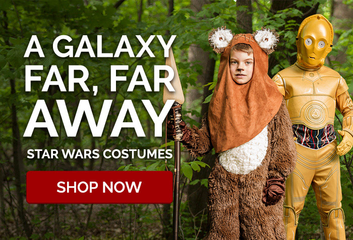 A Galaxy Far, Far Way. Star Wars Costumes.