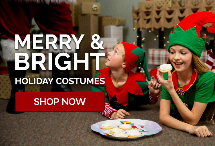 Merry & Bright. Holiday Costumes.
