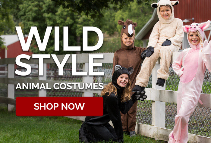 Wild Style Animal Costumes