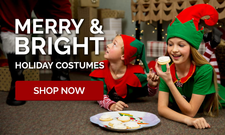 Santa Suits, Reindeer & Elf Costumes