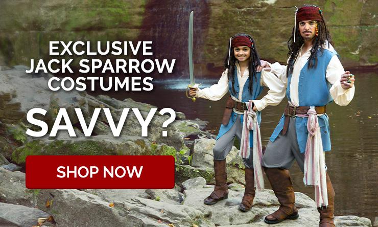 Exclusive Jack Sparrow Costumes