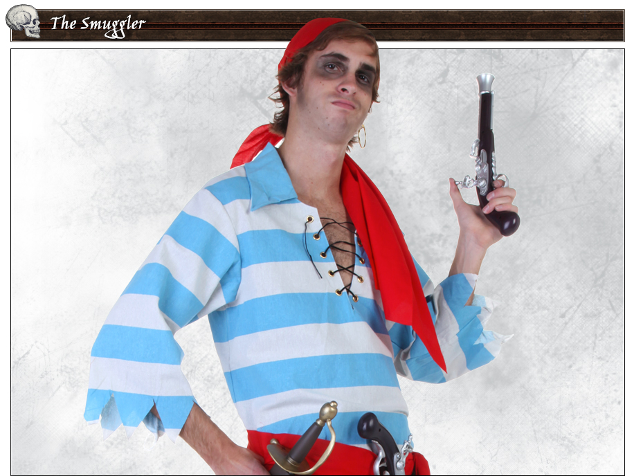 The Smuggler Pirate Poses