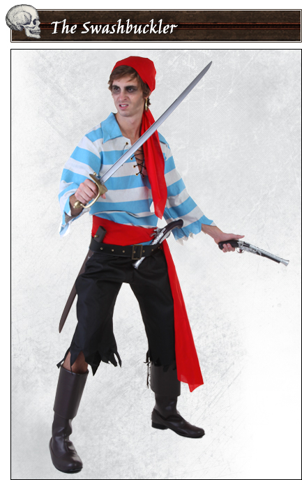 The Swashbucklet Pirate Poses