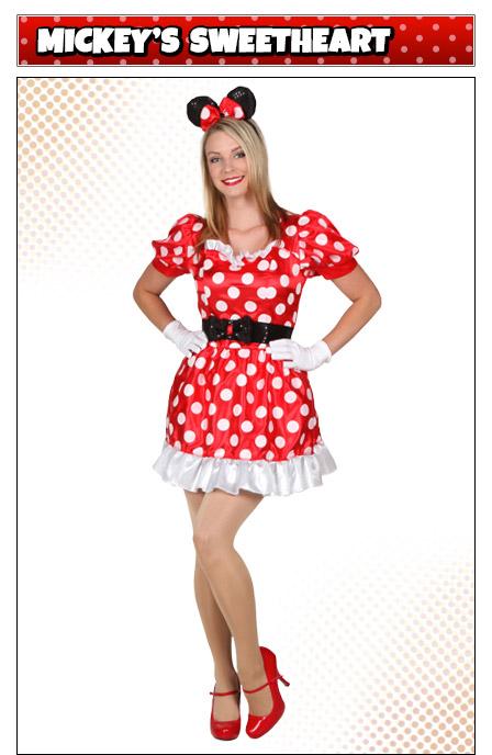 Classic Minnie Mouse Costume Idea