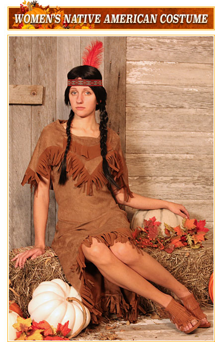 Womens Native American Costumes
