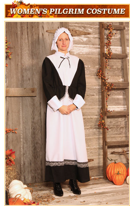 Womens Pilgrim Costume