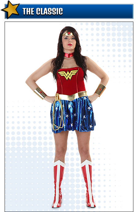 Classic Wonder Woman Costume Pose