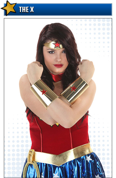 Crossed Arms Wonder Woman Costume Pose